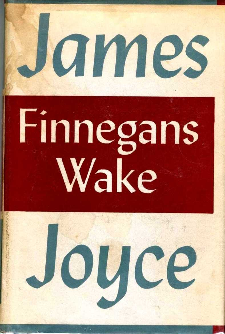 Finnegans Wake, 1st edition - Fonts In Use