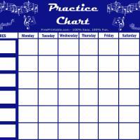 Music Practice Chart