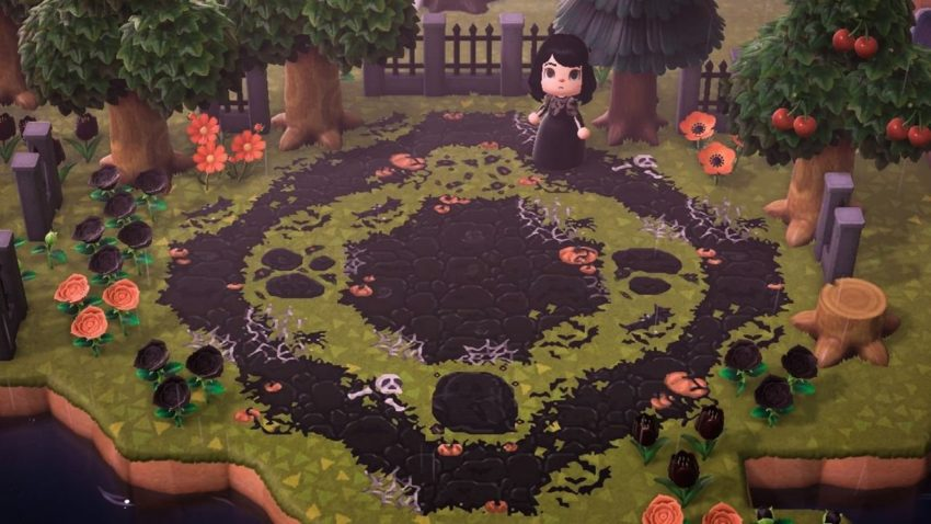 The best path designs in Animal Crossing: New Horizons ... on Animal Crossing New Horizons Wood Design  id=11274