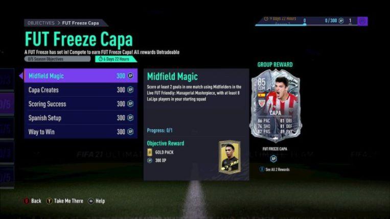 FIFA 21: Capa FUT Freeze disponível nos objetivos   FIFA Brasil Notícias