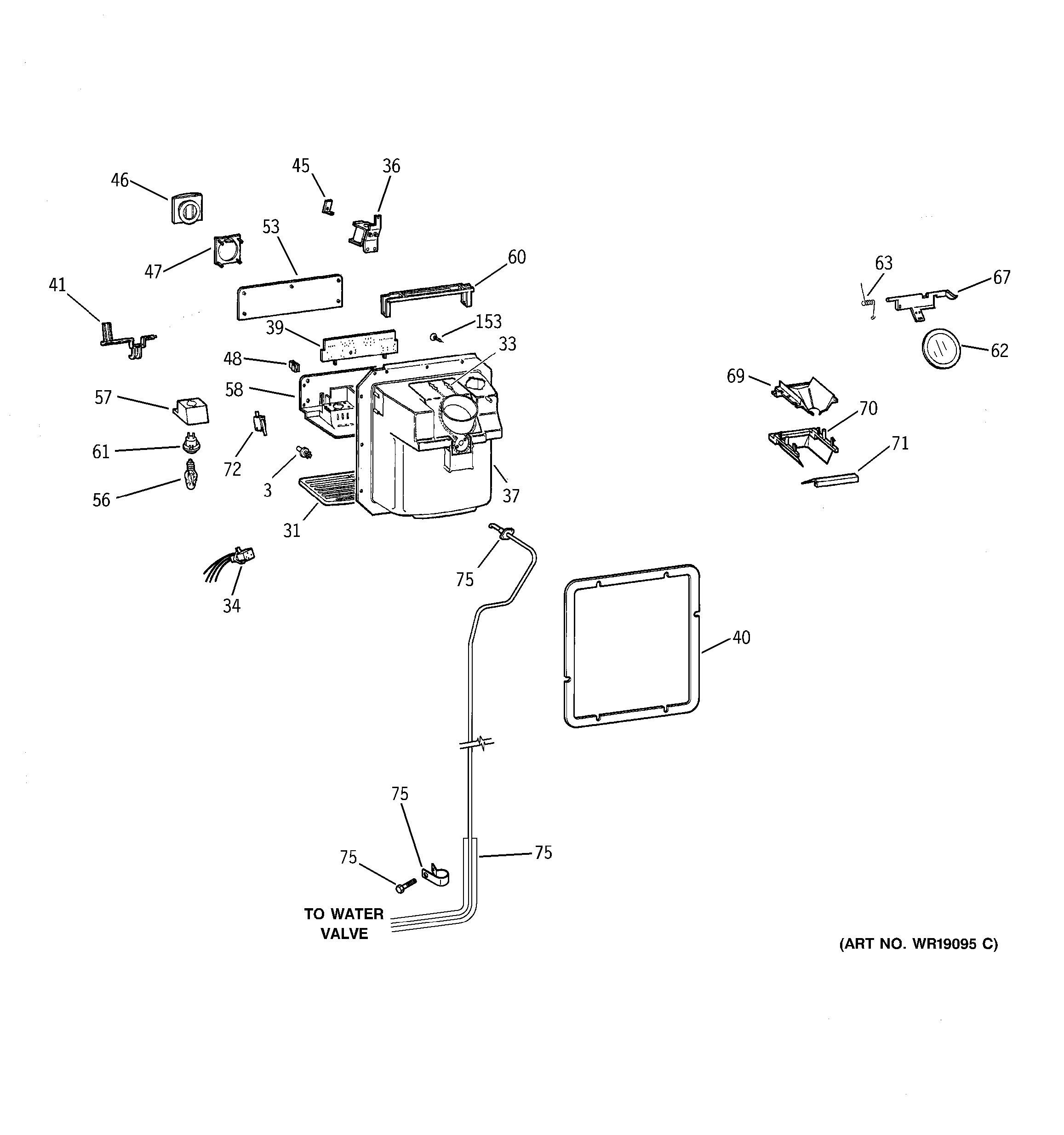 Toto Auto Flushometer Diagrams