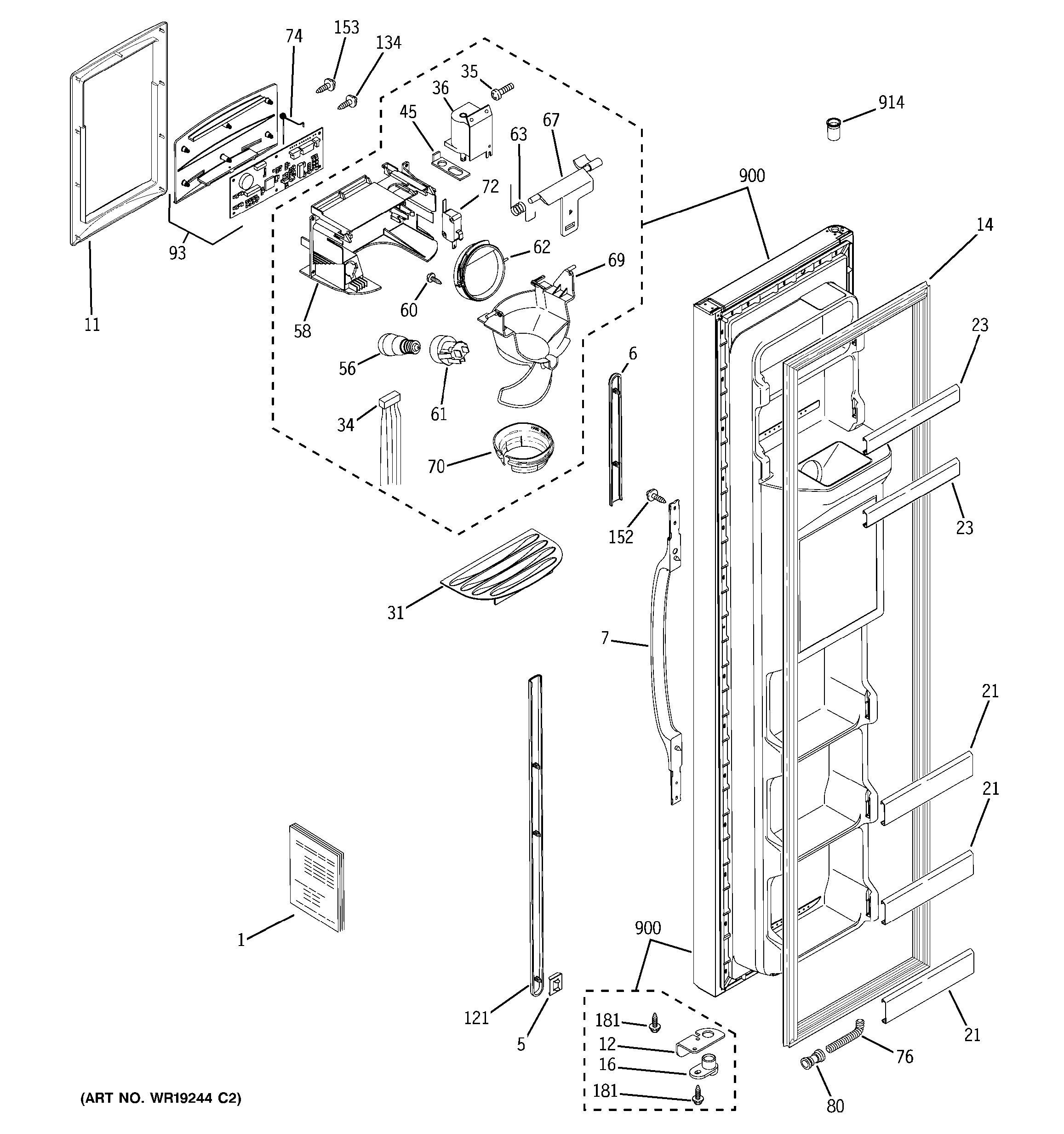 Freezer Wiring Diagram Of Plate