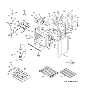 Assembly View for BODY PARTS | PB915ST1SS
