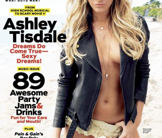 Ashley Tisdale On Maxim