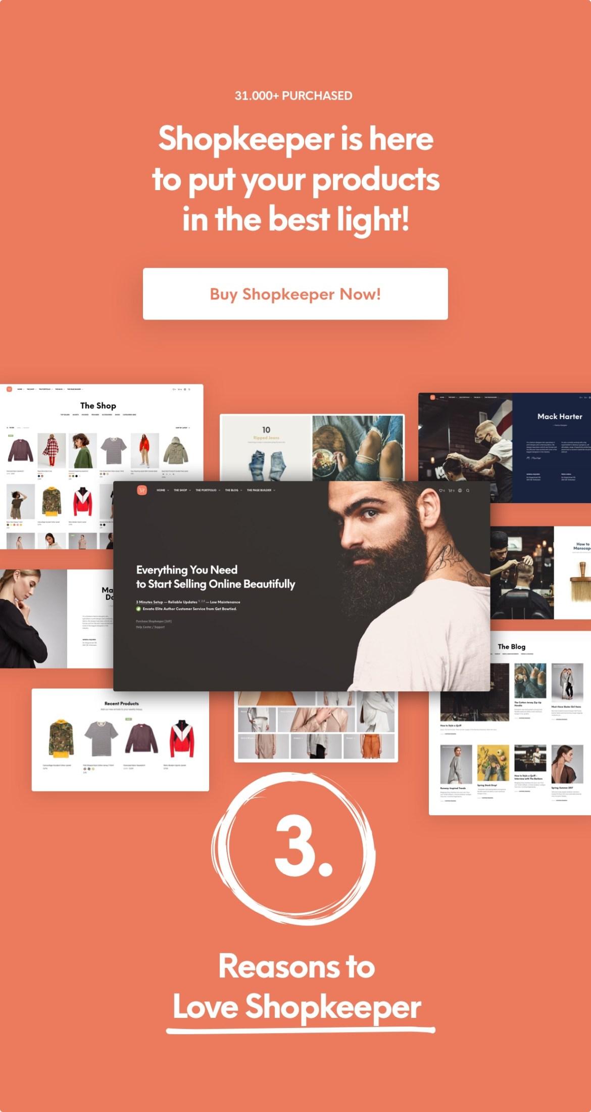 Shopkeeper - eCommerce WordPress Theme for WooCommerce - 6