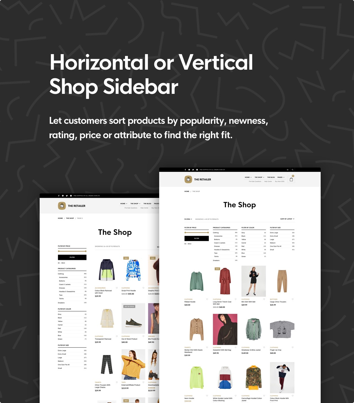 The Retailer - eCommerce WordPress Theme for WooCommerce - 16