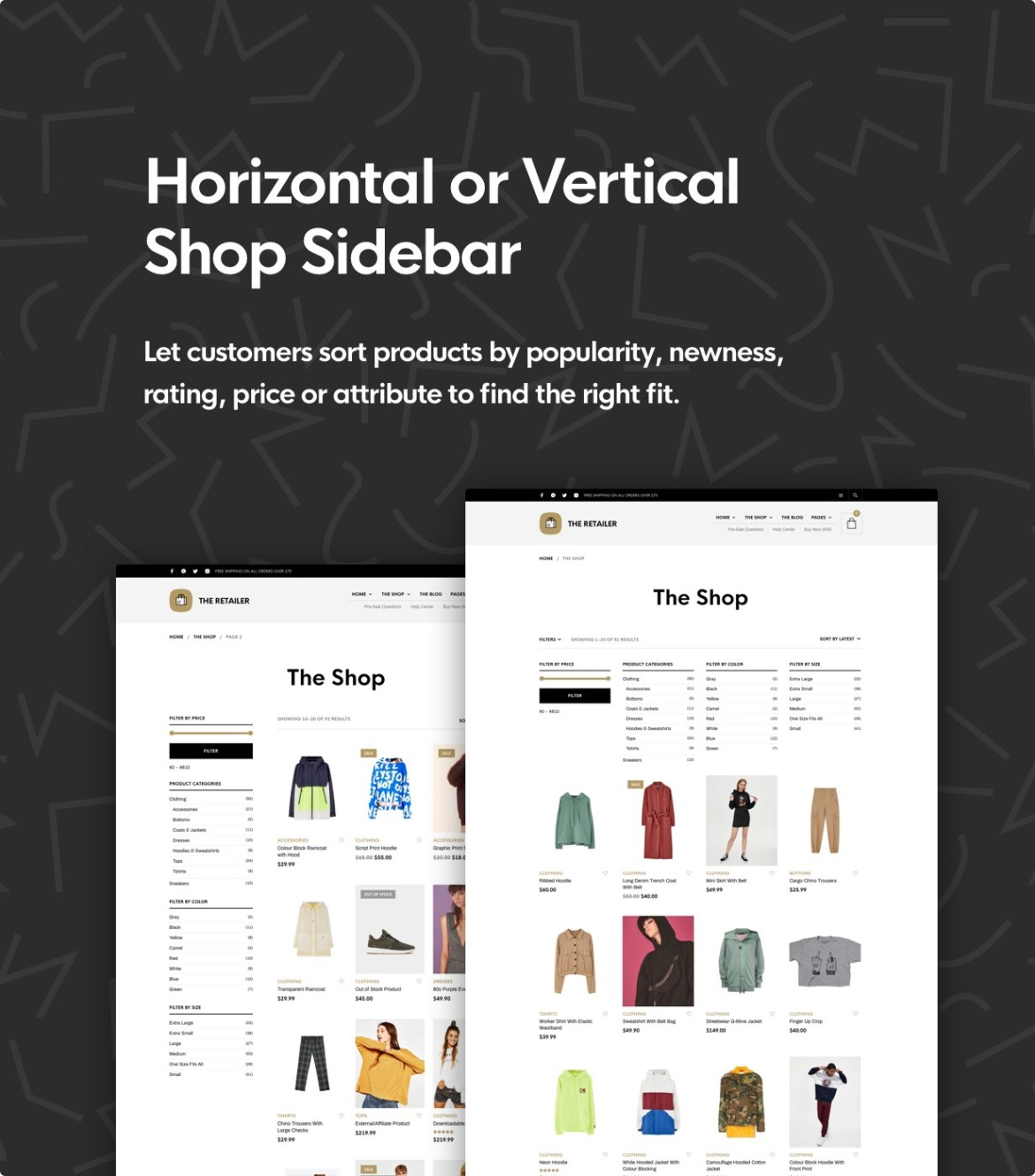 The Retailer - eCommerce WordPress Theme for WooCommerce - 16