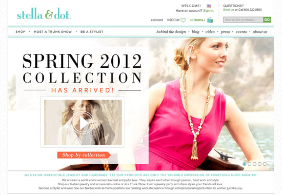 Stella and Dot - www.stelladot.com