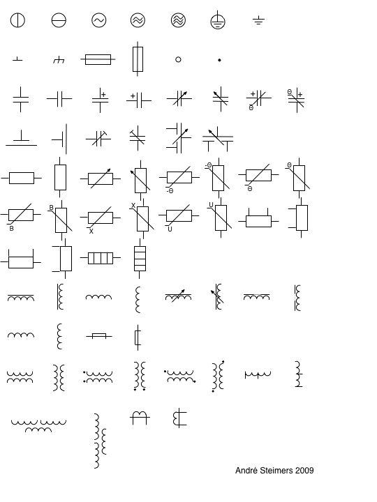 iso electrical schematic symbols Gallery