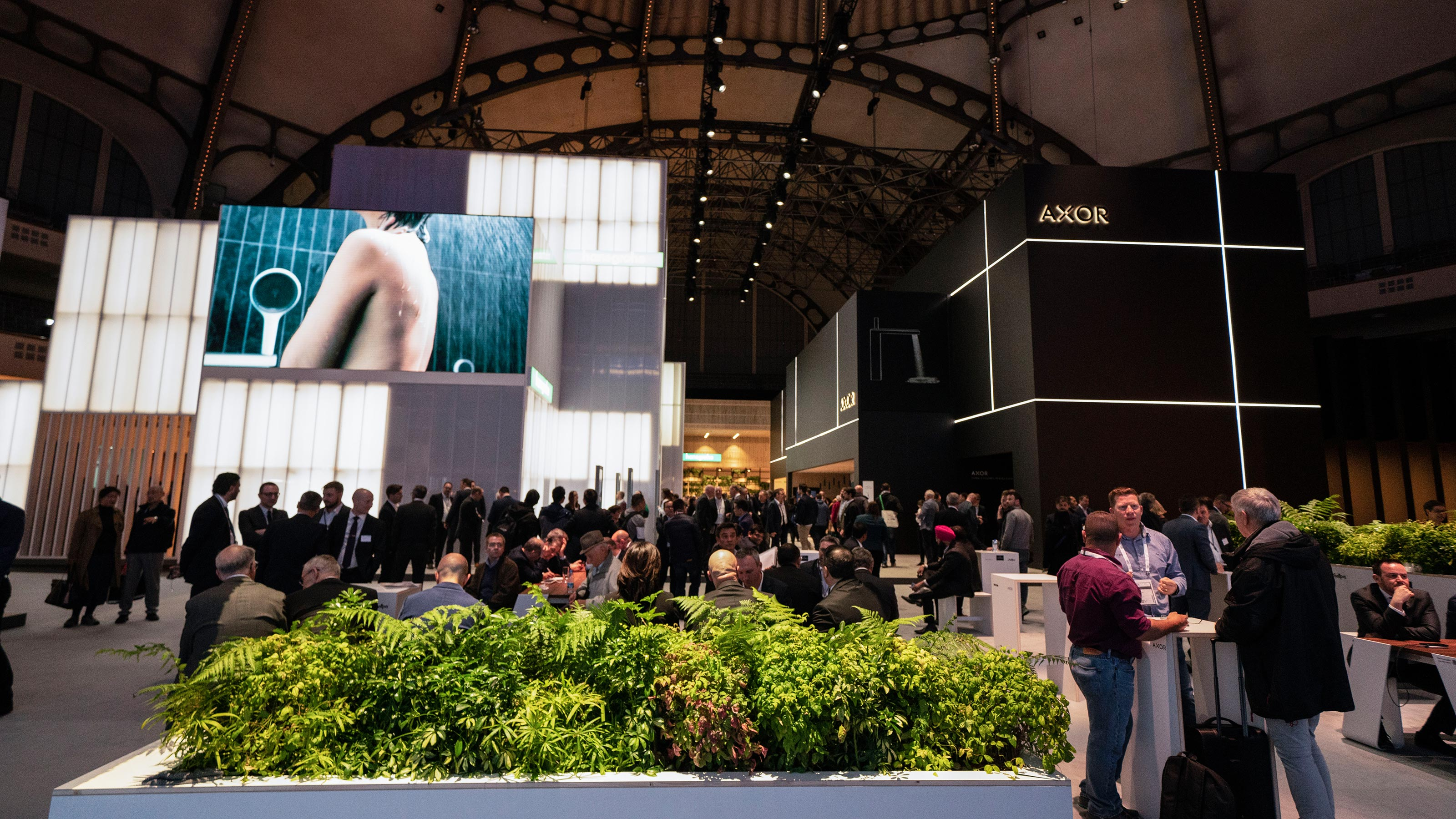 the axor and hansgrohe brands at a