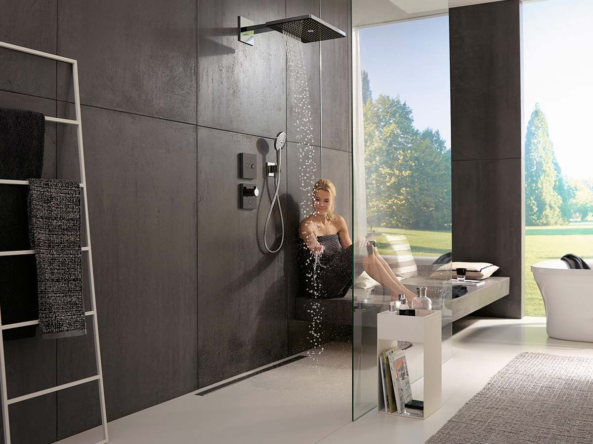 Hansgrohe Rainmaker Rain Shower With Xxl Shower Head