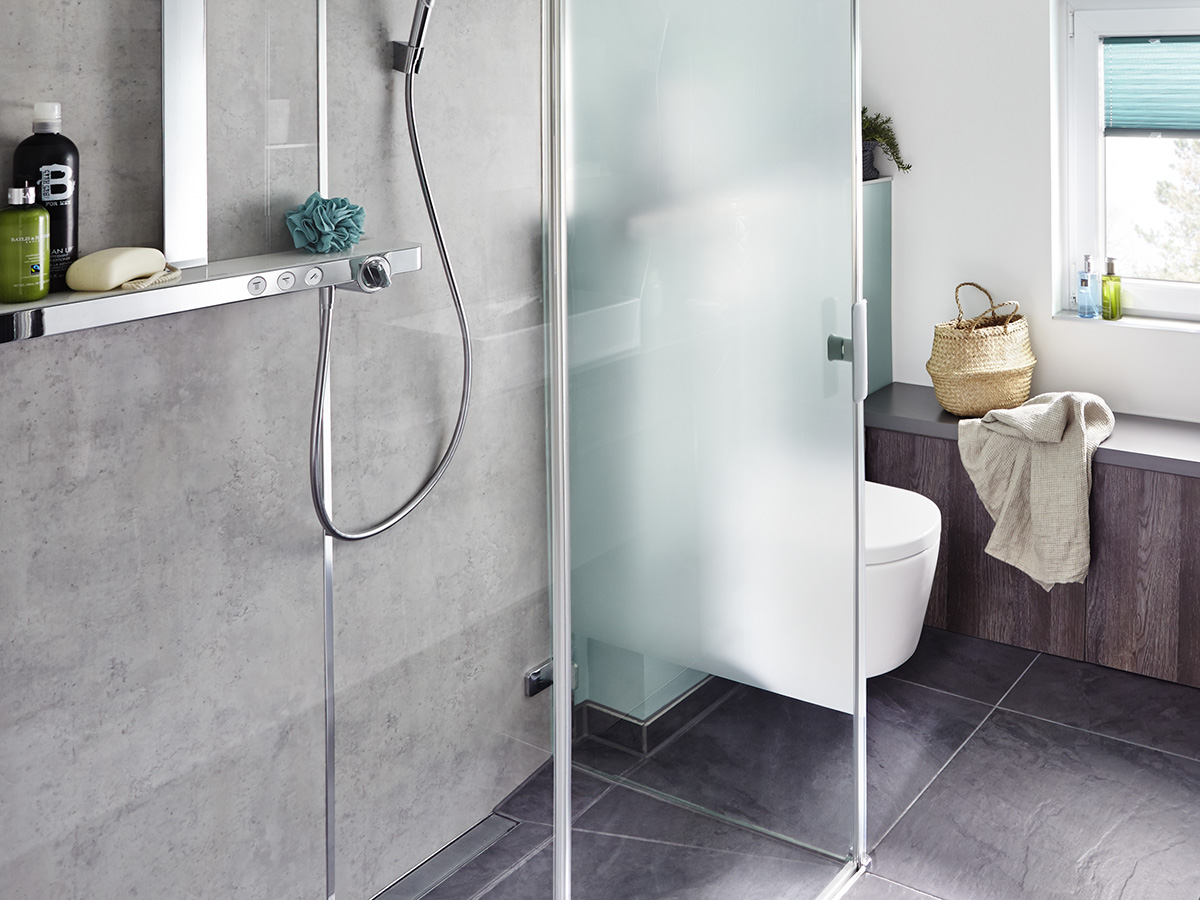 floor level shower guide to planning