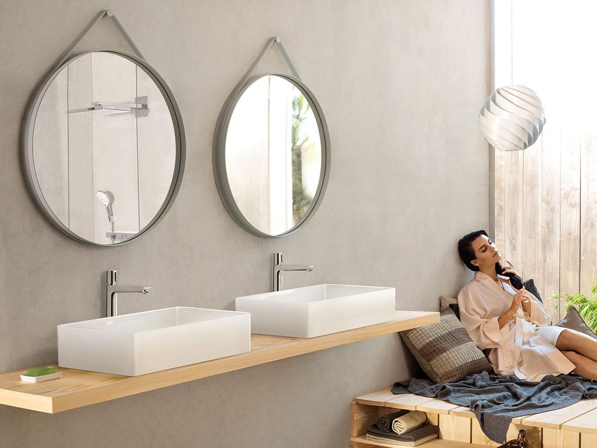 Salles De Bain Modernes Idees Pour Votre Design De Salle De Bain Hansgrohe Be