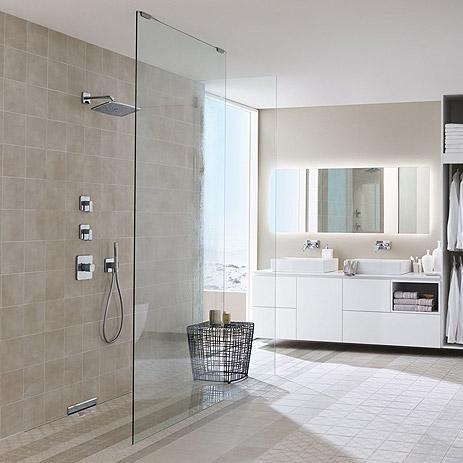 Trend Im Badezimmer Bodenebene Dusche