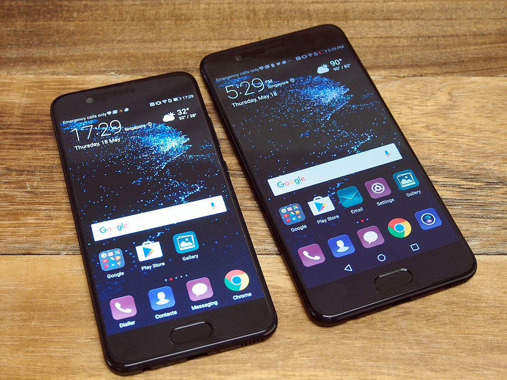 The Huawei P10 and P10 Plus.