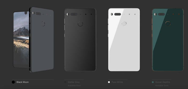 Image result for essential phone official