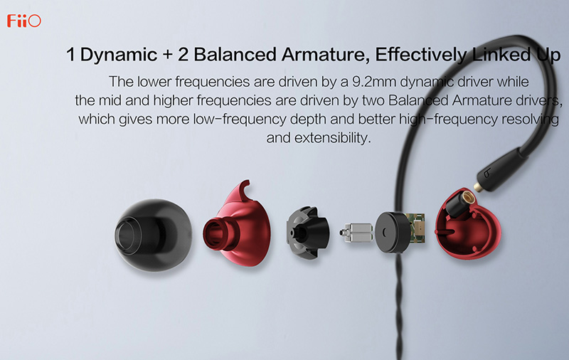 Three drivers for great sound across the spectrum.