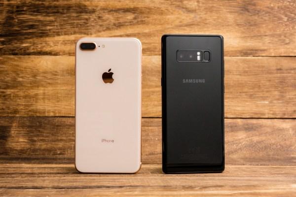 iPhone 8 Plus vs. Samsung Note8 showdown: Which phone has ...