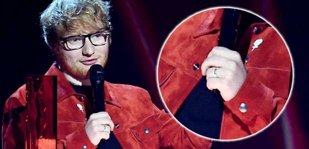 Why Ed Sheerans Engagement Ring Is Sparking Controversy