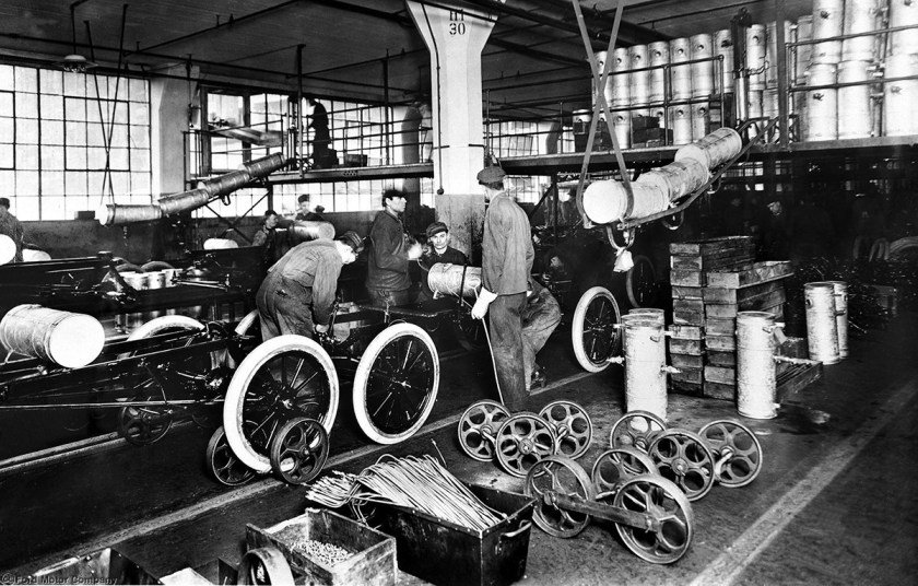 Image result for Ford assembly line