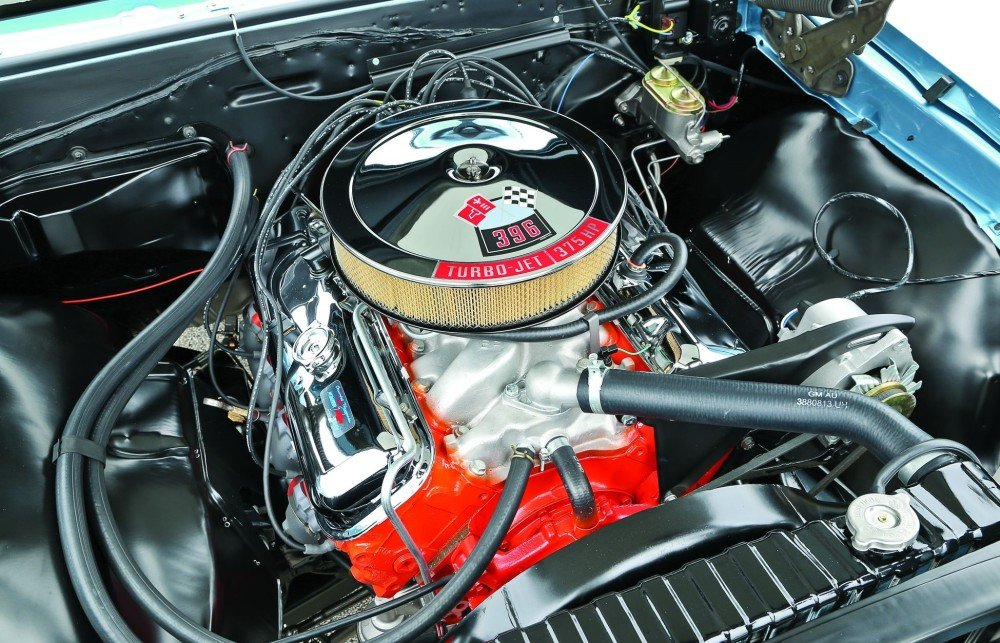 Simultaneous Combustion  1967 Chevrolet Chevelle SS