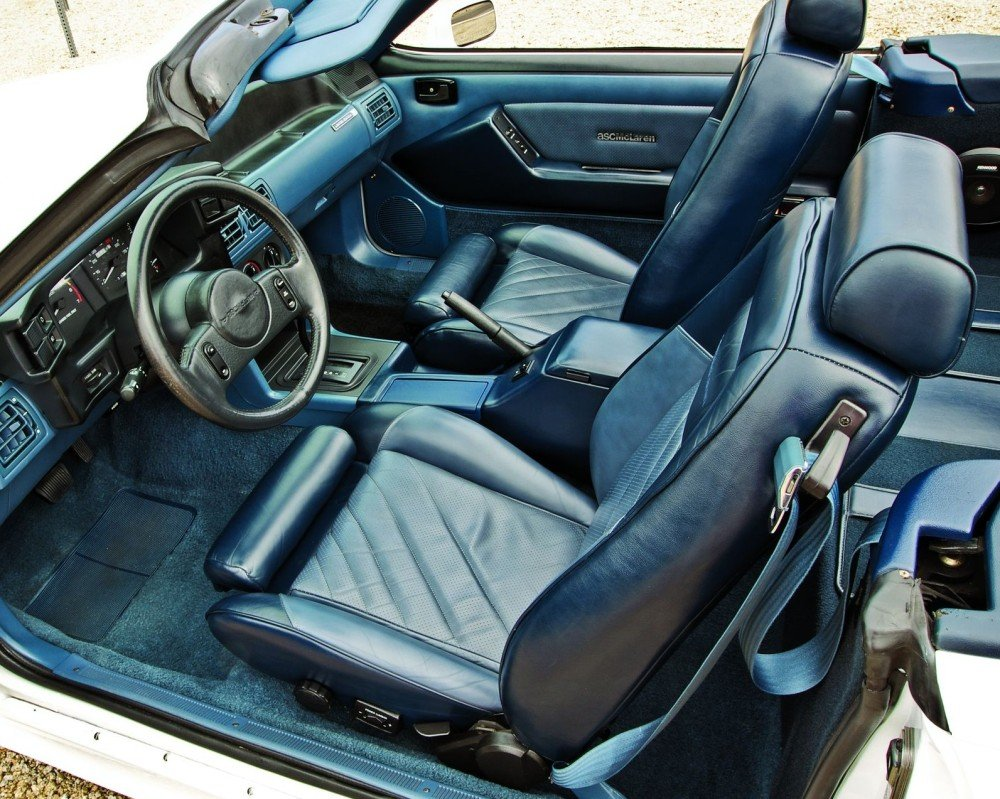 1987 90 ASCMcLaren Ford Mustang Convertible Hemmings