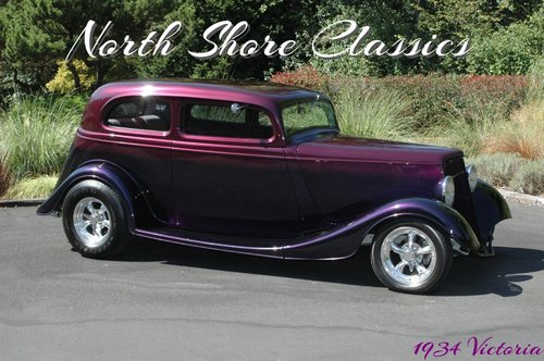 1934 Ford Victoria Crown