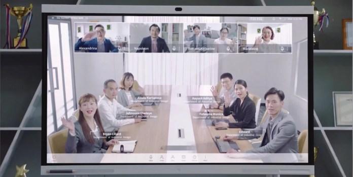 HUAWEI memperkenalkan IdeaHub yang menawarkan kemudahan perjumpaan secara maya yang diperlukan oleh organisasi perniagaan.