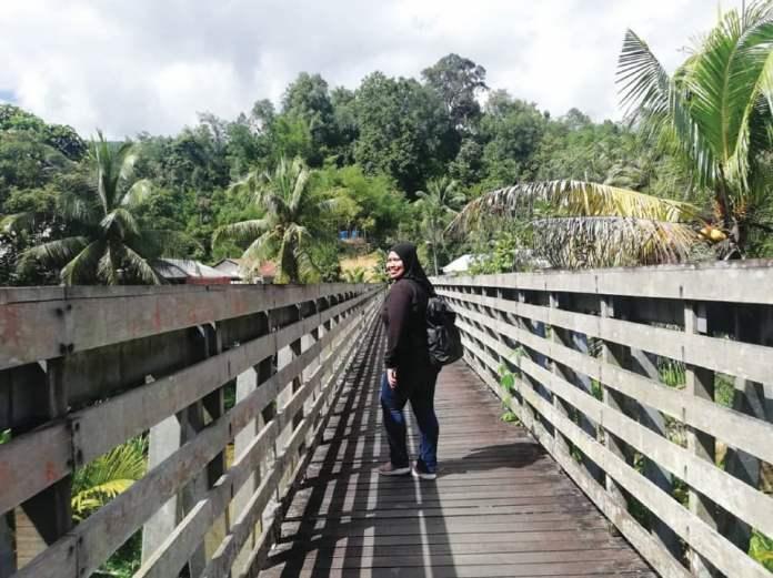 PEMANDANGAN Jambatan Darul Hana. FOTO Ihsan Kumpulan Media STB