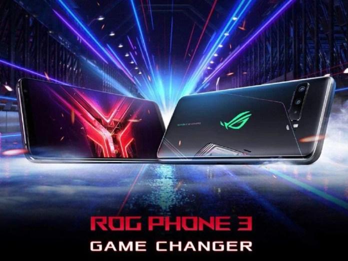 TELEFON pintar ASUS ROG Phone 3 didatangkan dengan pemproses Qualcomm Snapdragon 865+ 5G bersama 12GB RAM