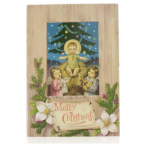 Christmas Card With Baby Jesus Online Sales On Holyart Com
