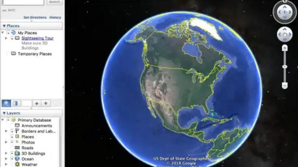 Гугл Земля