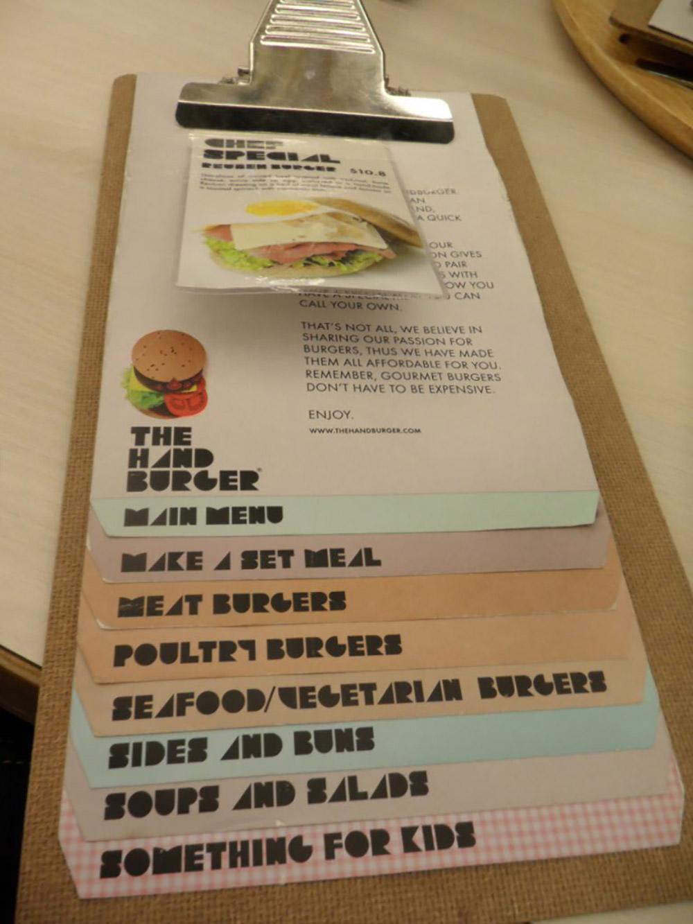 Ручной бургер от Blogspot