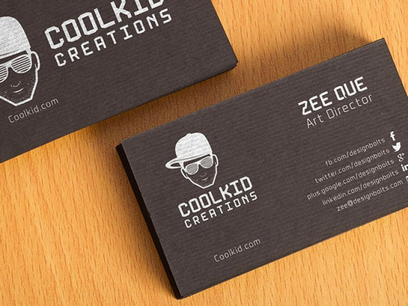 Текстурированные макеты визиток