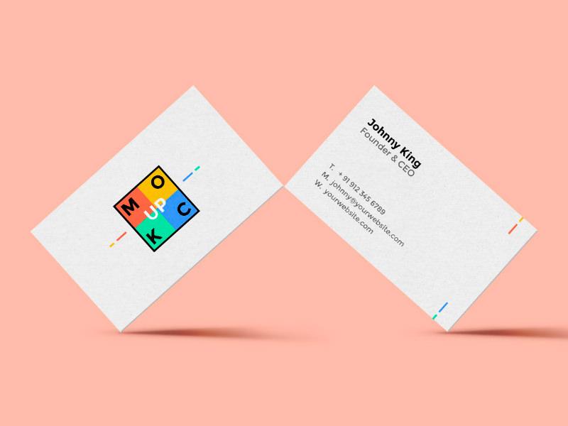 Постоянный макет визитной карточки