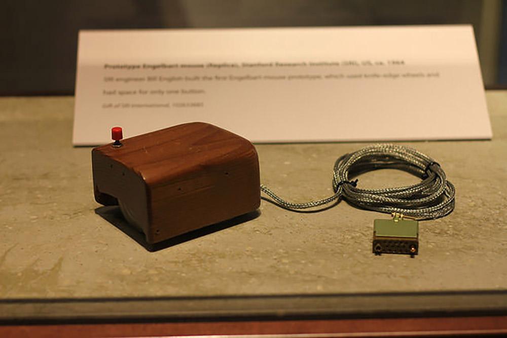 Первый прототип мыши