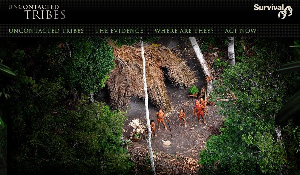 неконтактные племена