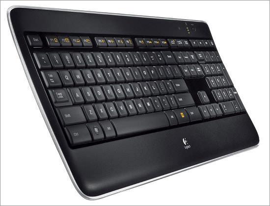 Клавиатура Logitech с подсветкой