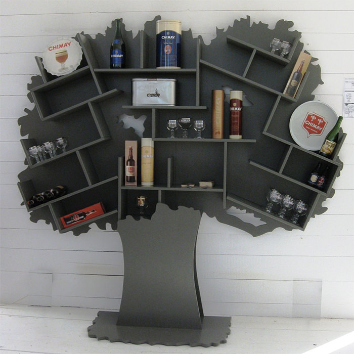 тесдерево-книжный шкаф