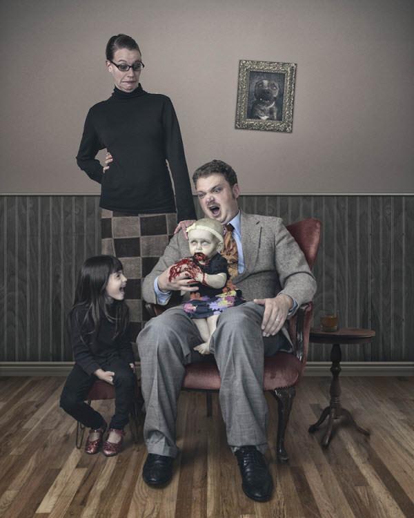 зомби ребенок