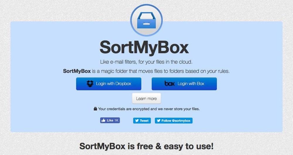 sortmybox