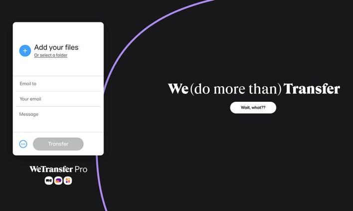 موقع WeTransfer من افل مواقع ارسال الملفات