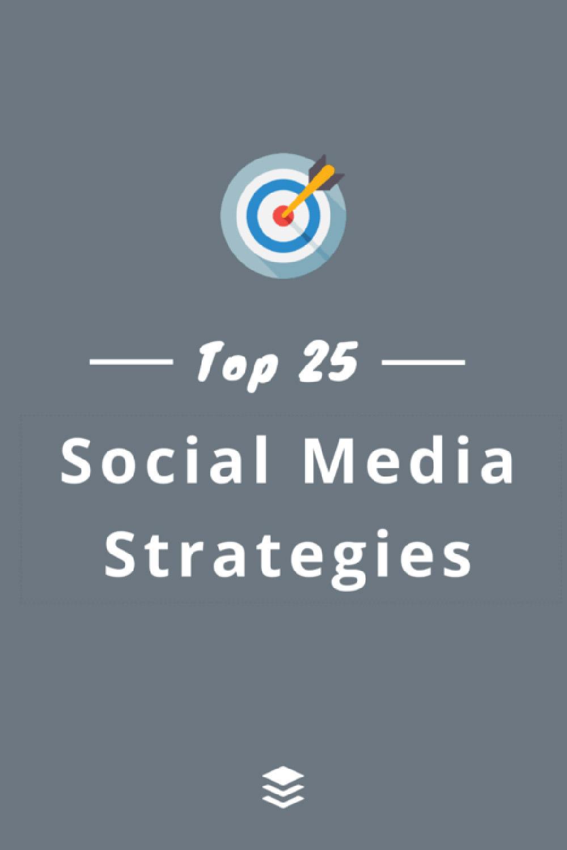 25 эффективных стратегий в социальных сетях, которые вы можете реализовать сегодня