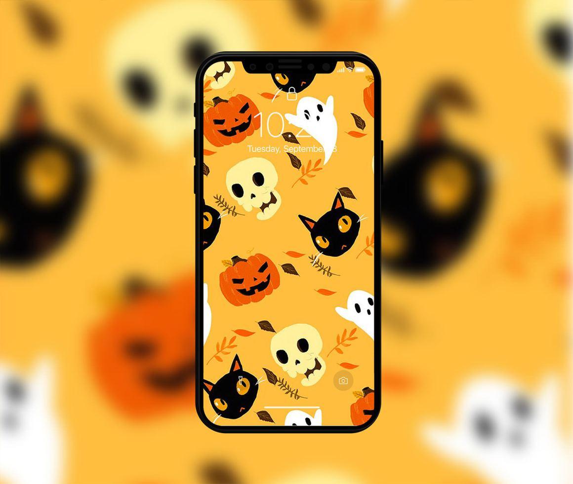 хэллоуин мобильные обои