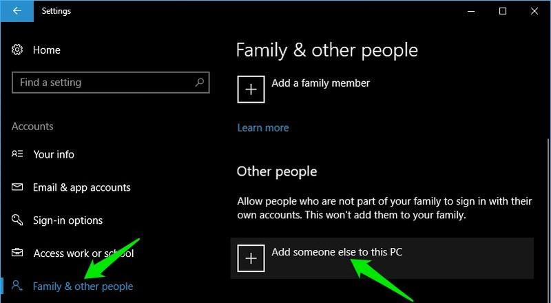 добавить нового пользователя