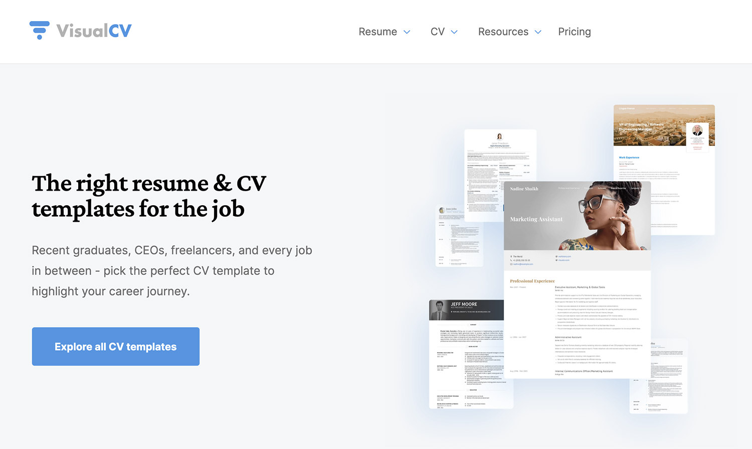 Product and service reviews are conducted independently by our editorial team, but we. 15 Free Tools To Create Professional Resumes Hongkiat