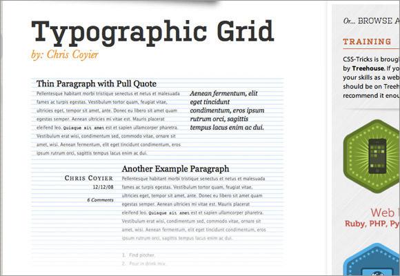 Типографская сетка учебник дизайн