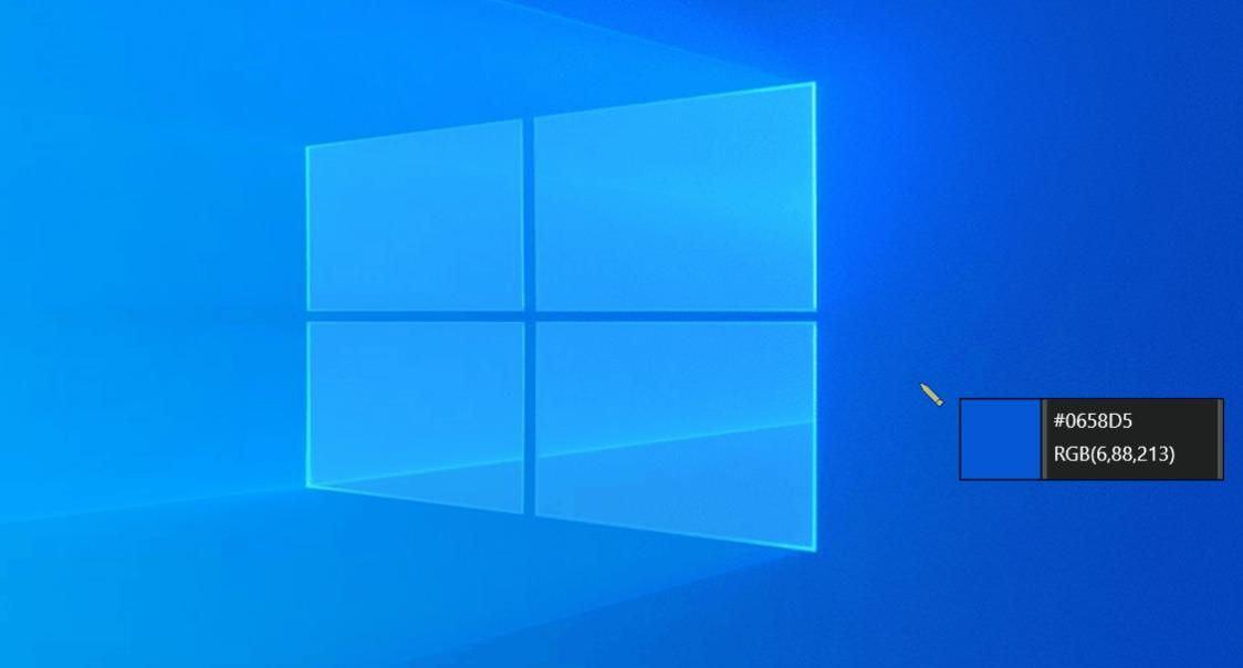 Использование средства выбора цвета PowerToy в Windows 10