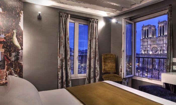 Htels Paris Proposant Des Chambres Aux Vues Exceptionnelles