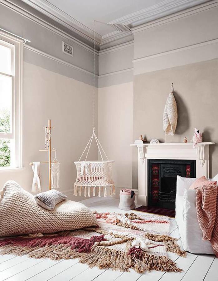 Peinture Chambre Beige Rose   Kapokto